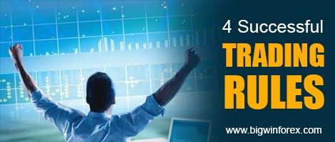 4 Successful Trading Rules